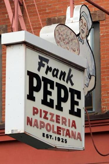 Frank Pepe's first store opened in 1925 in New Haven.