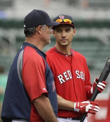 Manager John Farrell said Grady Sizemore will not play every day at the beginning of the Red Sox' season.