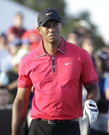 Tiger Woods has played only three tournaments this season.
