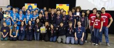 Massachusetts teams gather after the FTC East Super-Regional.