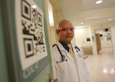 Dr. Steven Horng launched a Google Glass pilot program at Beth Israel Deaconess Medical Center late last year.