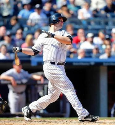 The Yankees' Brian McCann belted a pair of homers against John Lackey on Saturday. The Red Sox lost the game, 7-4.