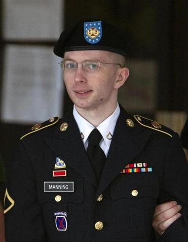 Manning was tried and convicted for leaking US secrets to WikiLeaks.