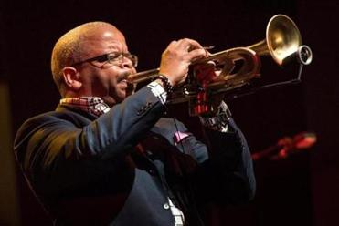 Terence Blanchard (left) will perform and and Vijay Iyer is a lecturer at the Berklee event.