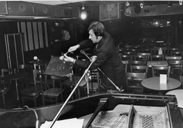 Tayloir is setting up at the Jazz Workshop in 1972.