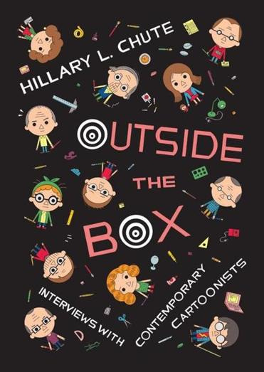 """Outside the Box"" book cover."