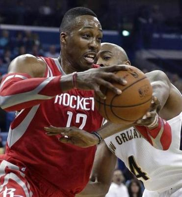 Dwight Howard, Houston's defensive anchor, is going to need some help on that end against Portland.
