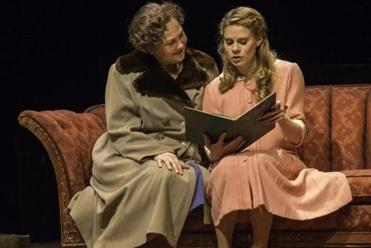"""The Glass Menagerie"" at the American Repertory Theater. From left: Cherry Jones and Celia Keenan-Bolger."