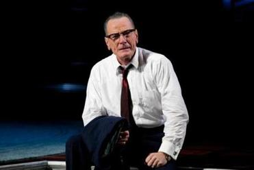 "American Repertory Theater's production of ""All The Way."" Pictured: Bryan Cranston as LBJ."
