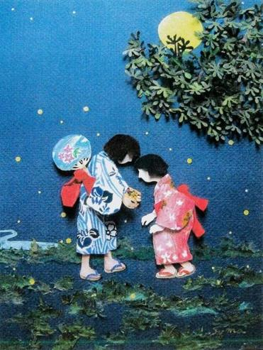 """Fireflies in Hand"" by Sumako Cohn."