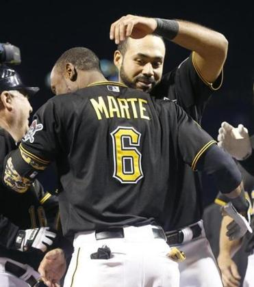 Pedro Alvarez and Starling Marte supplied the power for the Pirates.