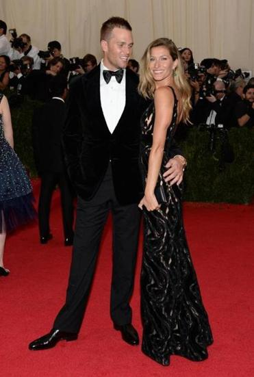 Tom Brady and Gisele Bundchen attended the Met's gala.