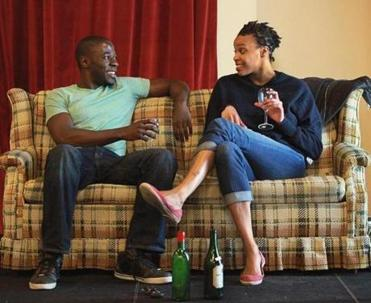 """This is my 'there it is' kind of play,"" Lydia R. Diamond says of ""Smart People,"" which features discussions among two African-Ameri-cans, one white, and one Chi-nese-Japanese-American."