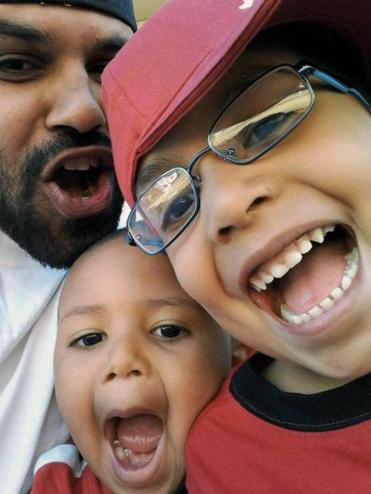 Rene Lima-Marin played with Justus, 7, and Josiah, 4, in Aurora, Colo. He had been sentenced for armed robbery.