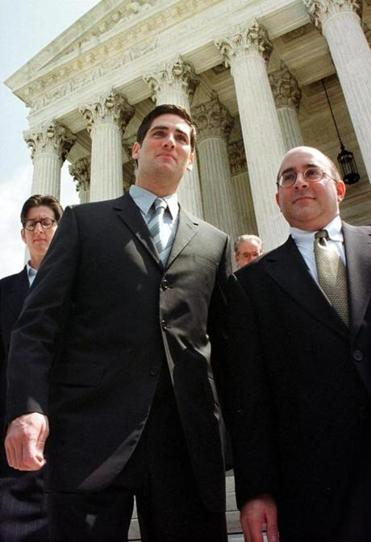 Attorney Evan Wolfson left the Supreme Court in 2000. The court heard arguments on whether the Boy Scouts have a constitutional right to exclude gay members.