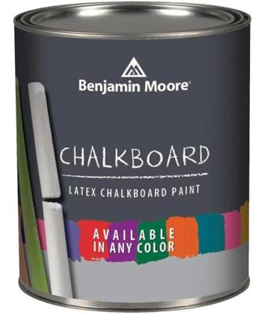 "Consider chalkboard paint for at least one spot in your home. ""It can be mixed in any color,"" says interior designer Michele Eason, ""and it's a fun alternative."""