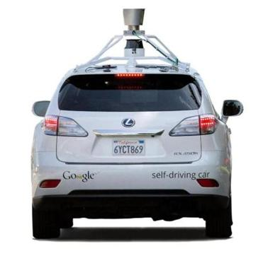 Could driverless cars, like this one from Google, eventually lead to the return of happy hour in Massachusetts?