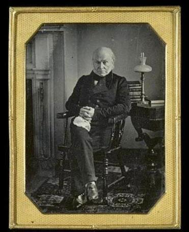 Fred Kaplan's biography of John Quincy Adams (in undated photo) spans the Colonial era to the threshold of the Civil War.