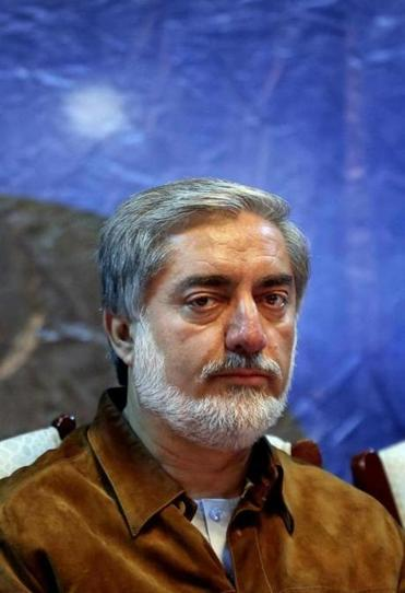 Abdullah Abdullah, who faces a runoff vote next week, was not harmed in the attack.