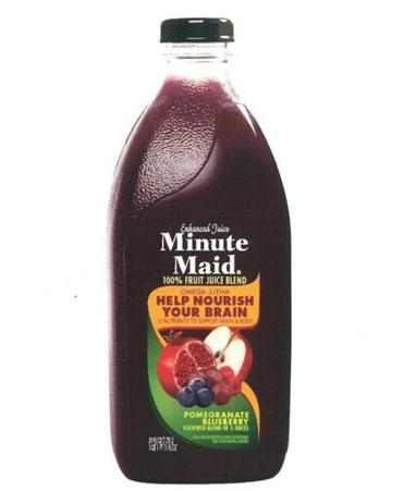 Sold under the Minute Maid brand, the blend is almost all apple and grape juice.
