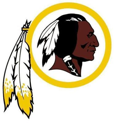 The Redskins have used some version of this logo since the 1930s.