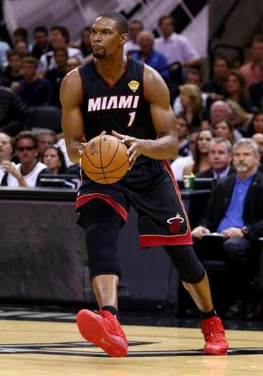 Chris Bosh's agent, Henry Thomas, said he told Heat President Pat Riley of the decision Sunday afternoon.