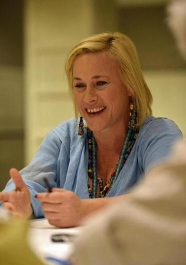 Patricia Arquette talks about her new movie while in town.