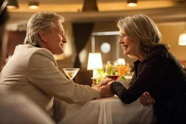 "Michael Douglas and Diane Keaton in ""And So It Goes,"" directed by Rob Reiner."