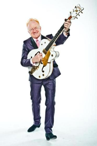 Peter Asher visits Johnny D's in Somerville on July 24.
