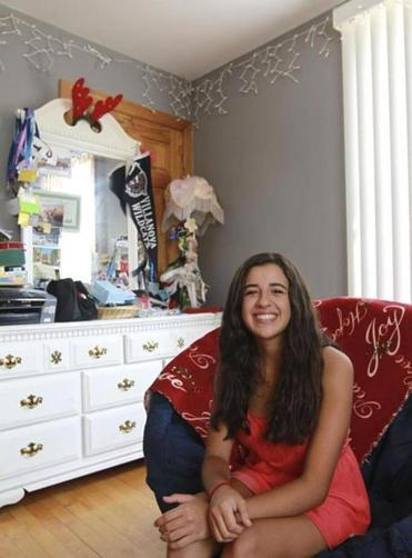 Shantel Silva, 17, of Peabody, met a potential college roommate online but decided she would rather be friends.