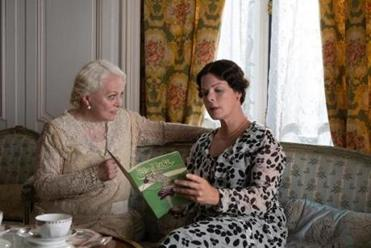 Jacki Weaver (left with Marcia Gay Harden) plays a naive dowager in the film, set in Jazz Age England.