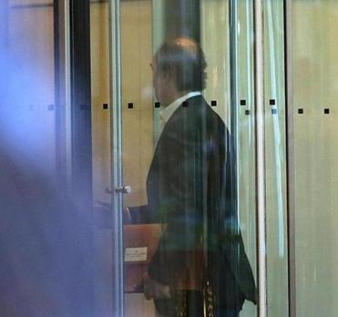 Arthur S. Demoulas entered the Prudential in Boston for the board meeting.