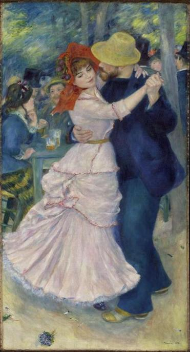 """Dance at Bougival,"" by Pierre-Auguste Renoir, has been on loan from the MFA for more than one-third of the time in the past four years."