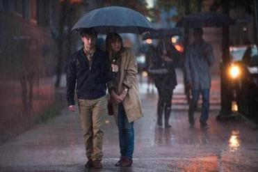 "Daniel Radcliffe in a scene with Zoe Kazan from ""What If,"" which opens Friday."