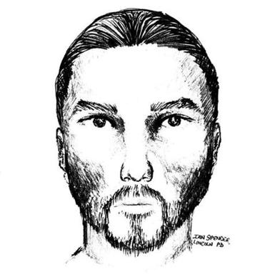 Forensic sketch of the suspect.