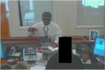 Authorities believe the same man robbed two banks.