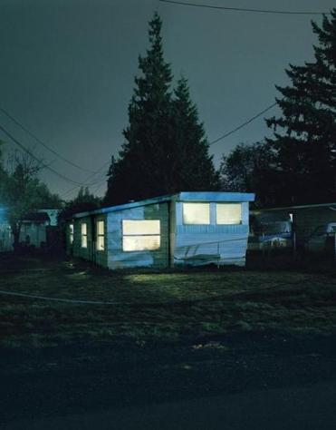 """#2810"" is one of more than 100 Silver Meadows images in Todd Hido's new show at Boston University Art Gallery."