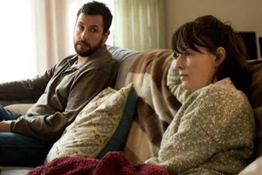 "Adam Sandler and Rosemarie DeWitt play a couple who create secret selves in ""Men, Women, & Children."""