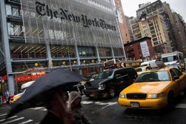NYT reporter suspended amid sexual misconduct reports