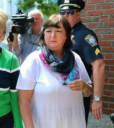 Stoneham resident Liz Norden was on hand for the suspect's arraignment in July 2013.
