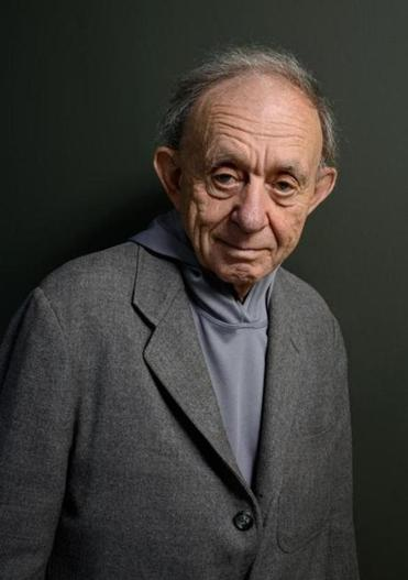 TORONTO, ON - SEPTEMBER 07: Director/Producer Frederick Wiseman of 'At Berkeley' poses at the Guess Portrait Studio during 2013 Toronto International Film Festival on September 7, 2013 in Toronto, Canada. (Photo by Larry Busacca/Getty Images) 07clasno 09infocus