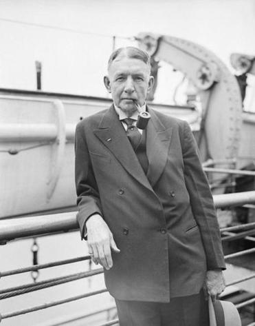 Charles Dawes, shown here as ambassador to Britain in 1932, was vice president under Calvin Coolidge.
