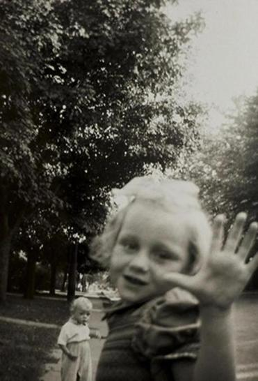 """Genesis, 1956,"" taken by photographer Frederick Sharpe when he was 7 years old."