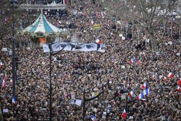 On Jan. 11, after terrorist attacks at the magazine Charlie Hebdo and at a kosher grocery store, thousands marched through Paris in a show of unity and defiance. Some students, however, refused to observe a national minute of silence commemorating the victims.