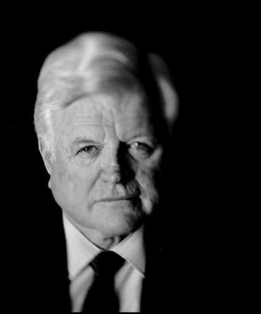 Senator Chris Dodd of Connecticut was Kennedy's closest friend in the Senate. // photograph by Mannie Garcia/Reuters      photograph by Lane Turner/Globe staff/file