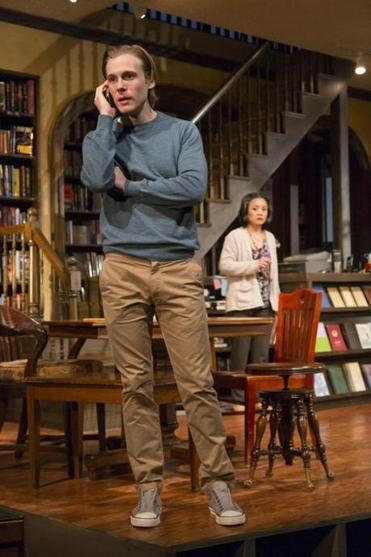 "Zachary Booth and Tina Chilip in A. Rey Pamatmat's ""after all the terrible things I do."""