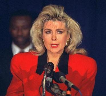Will Gennifer Flowers attend Monday's presidential debate?