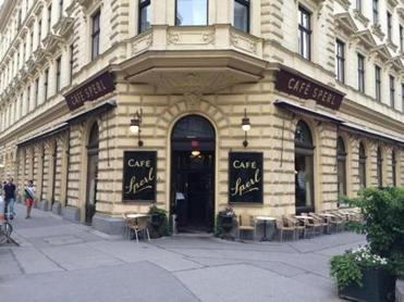 Cafe Sperl is one of the older coffeehouses in Vienna, carrying on a centuries-old tradition.