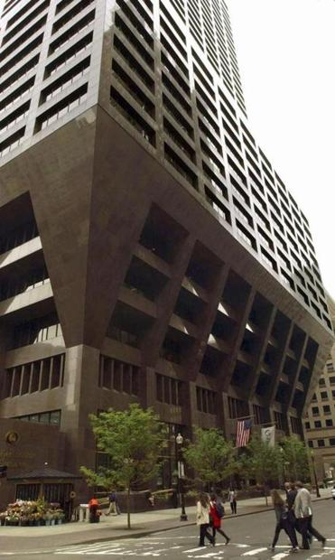 The building at 100 Federal St. may soon house Putnam Investments — along with Bank of America.