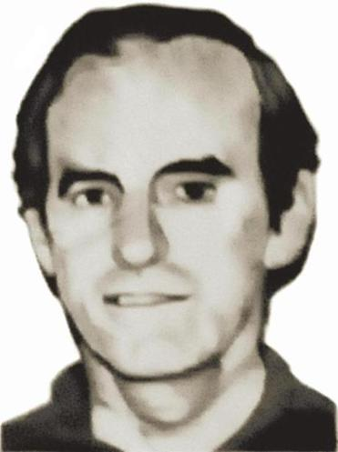 A portrait of Father Ignacio Ellacuria, who was among the six priests and two house-keepers killed  by government forces in San Salvador in 1989.